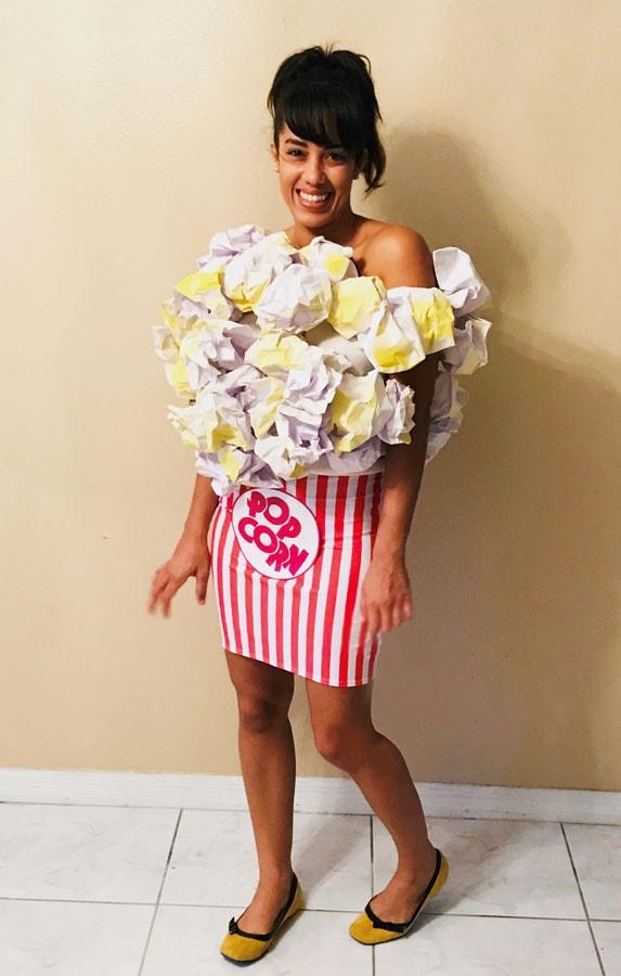 Popcorn costume
