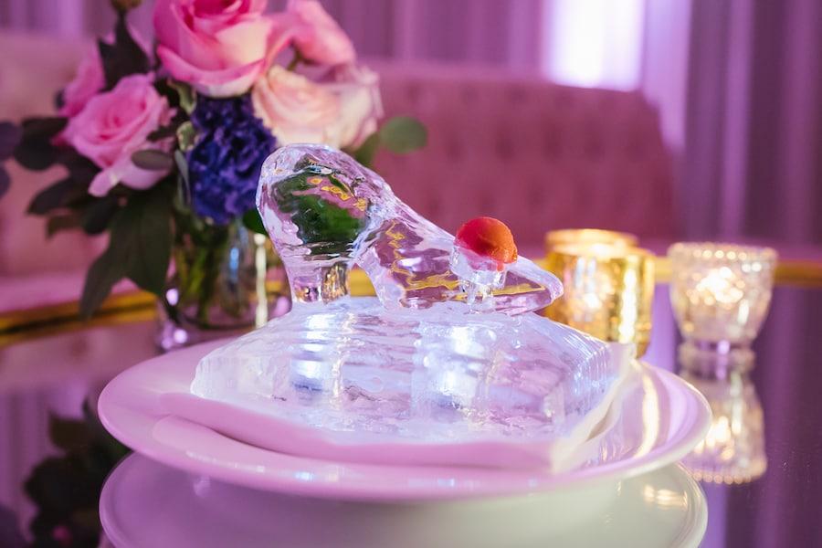 Glass Slipper at a Disney Fairytale Wedding