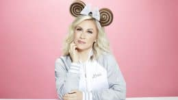 Ashley Eckstein and a Princess Leia Bun-Inspired Minnie Ear Headband