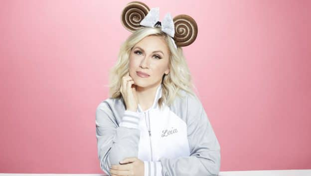 Ashley Eckstein and a Princess Leia Bun-Inspired Minnie Ear Headband