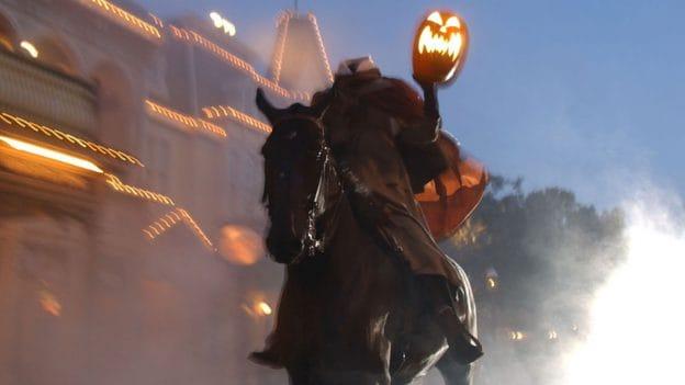 Headless Horseman on Main Street, U.S.A.