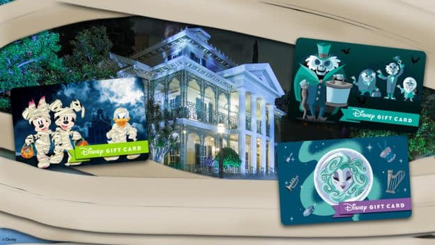 Spooky Disney Gift Card Designs Will Follow You Home!