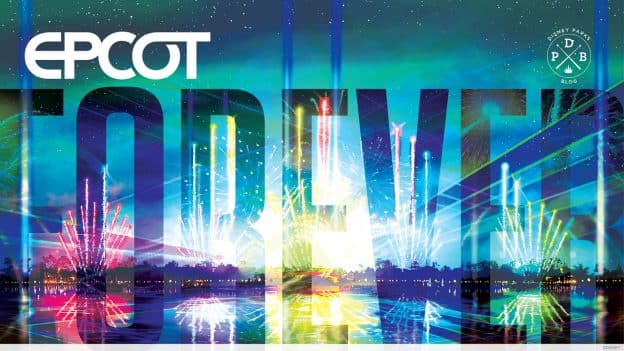 """Epcot Forever"" wallpaper"