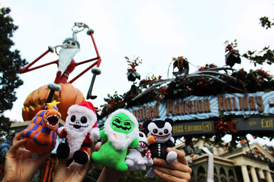 Disney Haunted Mansion Nightmare Before Christmas 2020 Oogie Boogie's Frightfully Festive in Newest Disney Parks