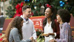 Young Adults enjoying the holidays at Walt Disney World Resort