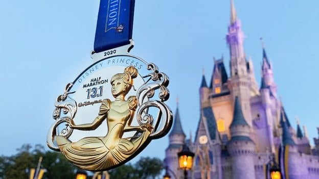 2020 Disney Princess Half Marathon Weekend Medal