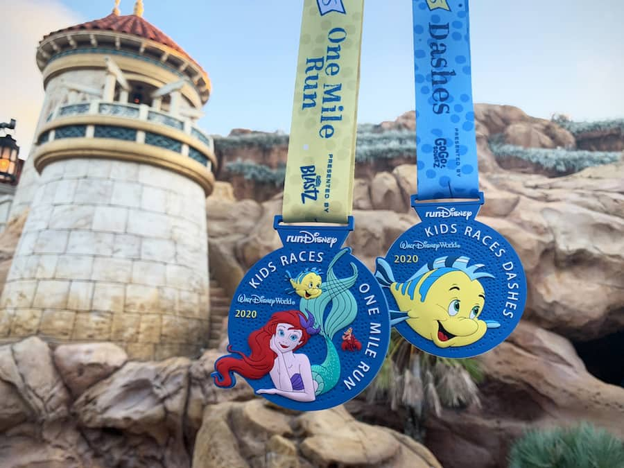 2020 runDisney Kids Races presented by GoGo squeeZ® Applesauce mdeal