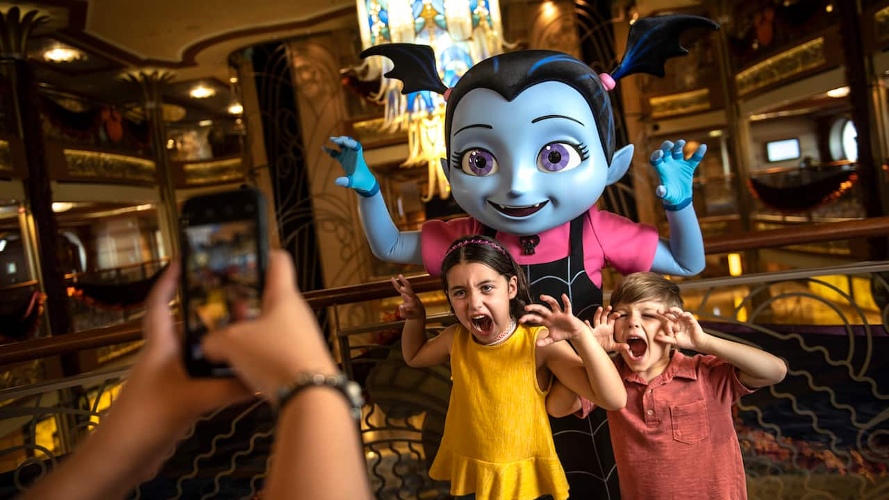Check Out How You Can Meet Fancy Nancy and Vampirina Aboard a Disney Ship