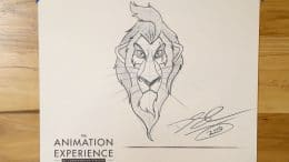 Learn to Draw: Scar from 'The Lion King' at Disney's Animal Kingdom