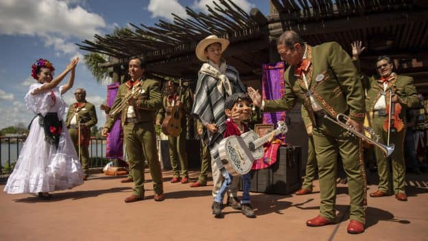 """""""Story of Coco"""" at Epcot"""