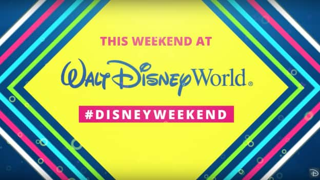 Exciting Experiences this Weekend at Walt Disney World Resort