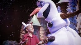 Child with Olaf