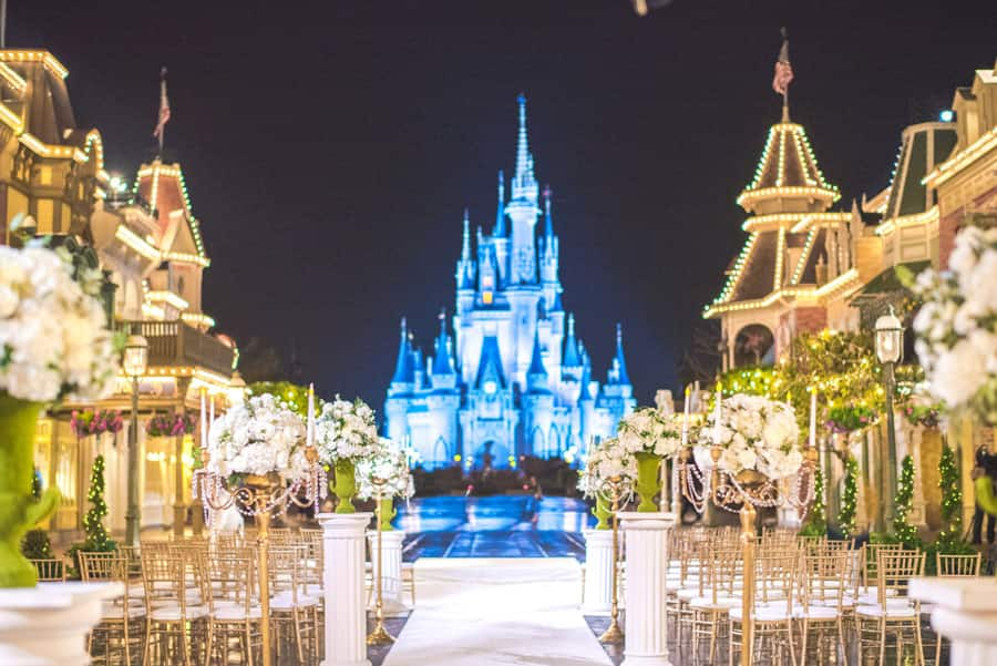 Disney's Fairy Tale Wedding at Magic Kingdom Park