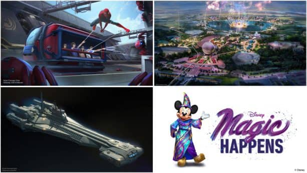 VIDEO: Disney Parks Experiences Unveiled by Bob Chapek Set the Stage for Exciting Future
