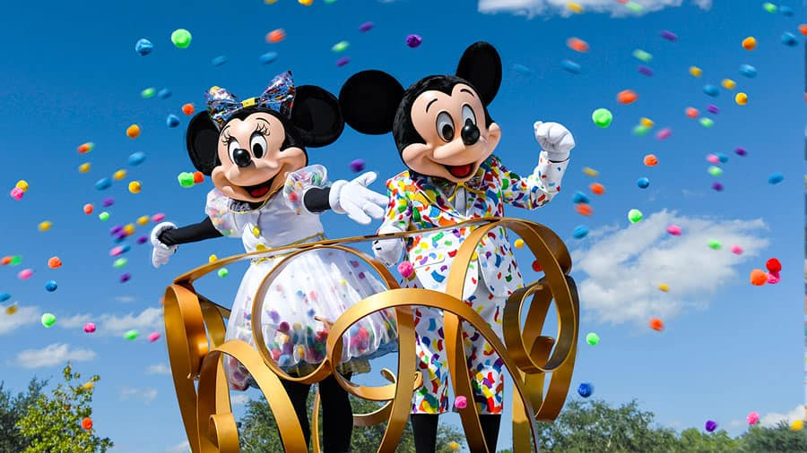 Mickey and Minnie 90 years of magic
