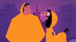 Disney Doodle: Kuzco & Pacha