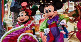 Minnie and Mickey at Disney ¡Viva Navidad!