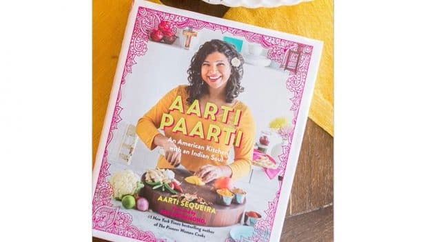 Aarti Sequeira at the 2019 Epcot International Food & Wine Festival