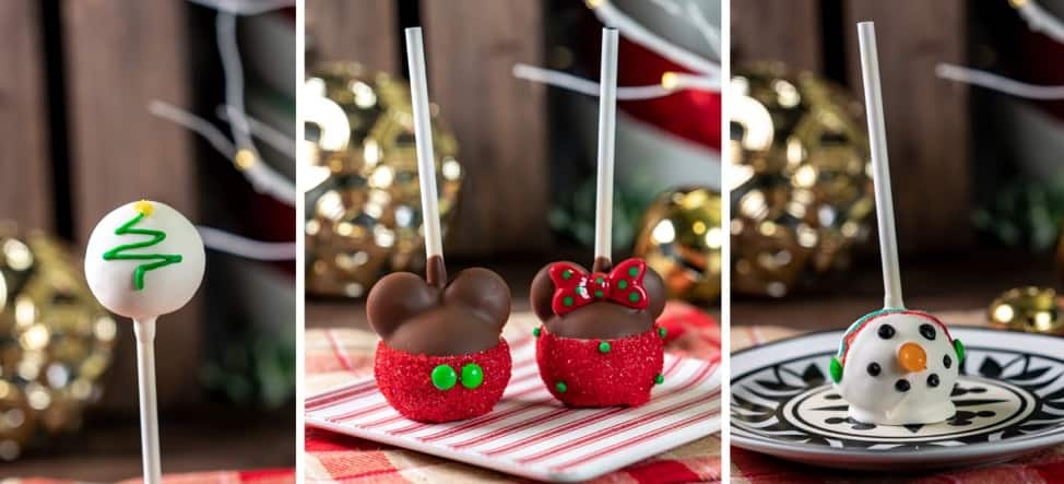 Holiday Cake Pops for 2019 Holidays at Disneyland Resort
