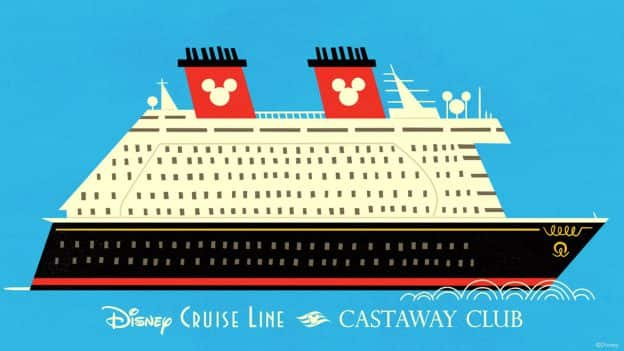 Disney Cruise Line Castaway Club Digital Wallpaper