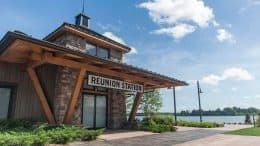 Reunion Station at Disney's Wilderness Lodge