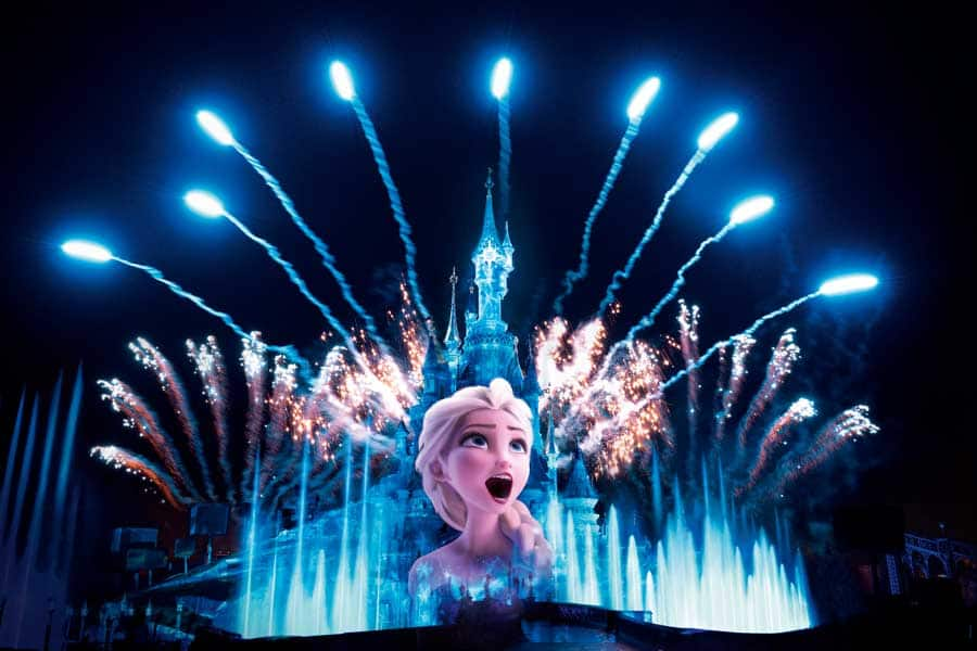 Disney Illuminations show at Disneyland Paris