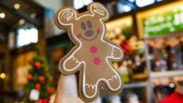 Gingerbread Mickey purse