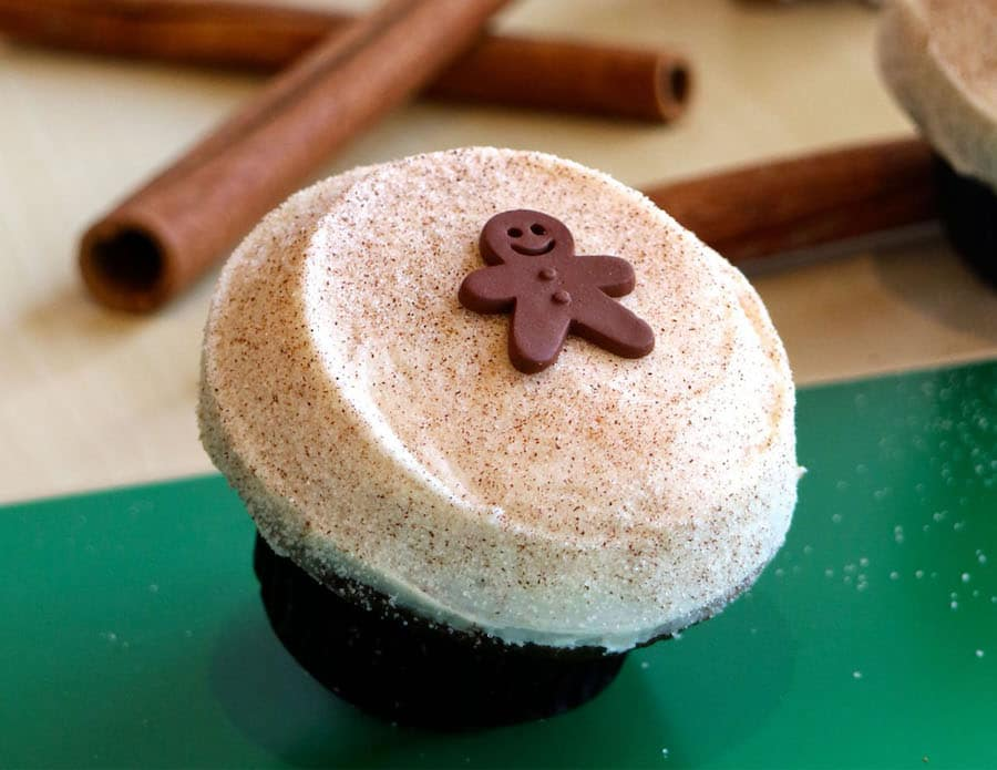Gingerbread Cupcake from Sprinkles