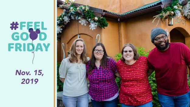 #FeelGoodFriday: Nov. 15, 2019: Artisans from the Augusta Training Shop at Disney's Animal Kingdom