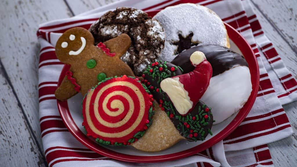Holiday Cookies from the Holiday Cookie Stroll for the 2019 Epcot International Festival of the Holidays