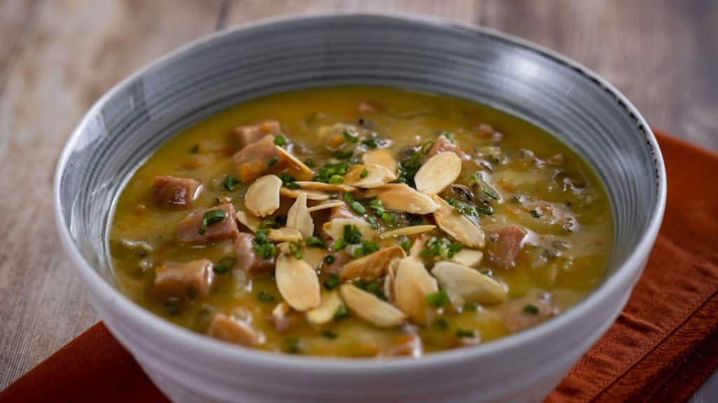 Canadian Wild Rice and Ham Soup from the Yukon Holiday Kitchen for the 2019 Epcot International Festival of the Holidays