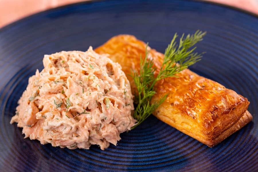 Rillette de Saumon from the Le Marché de Noël Holiday Kitchen for the 2019 Epcot International Festival of the Holidays