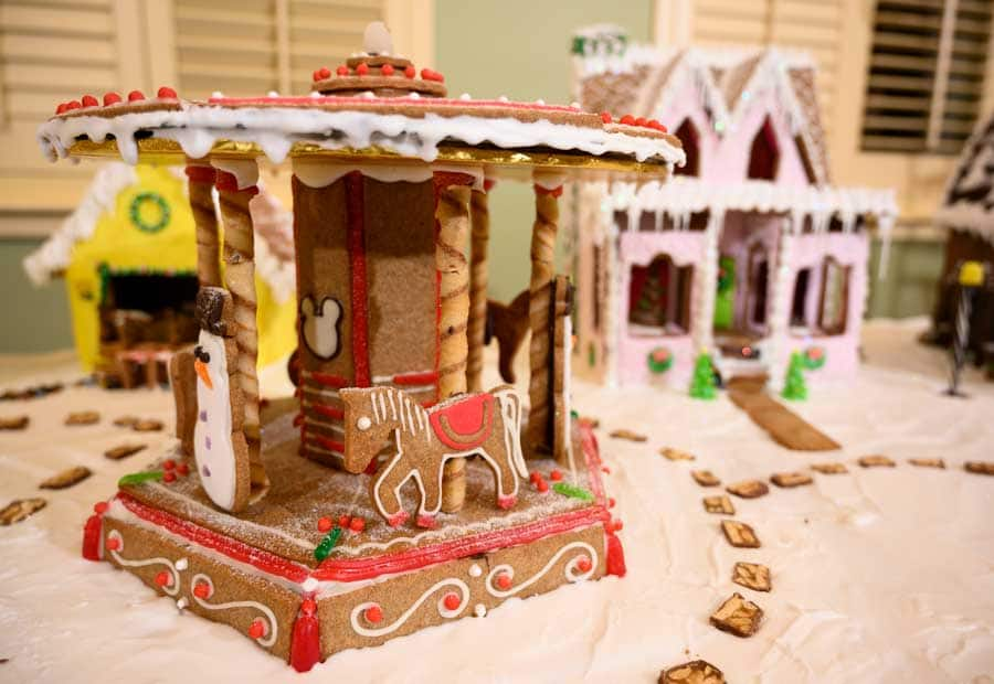 Gingerbread Display at Disney's Saratoga Springs Resort & Spa