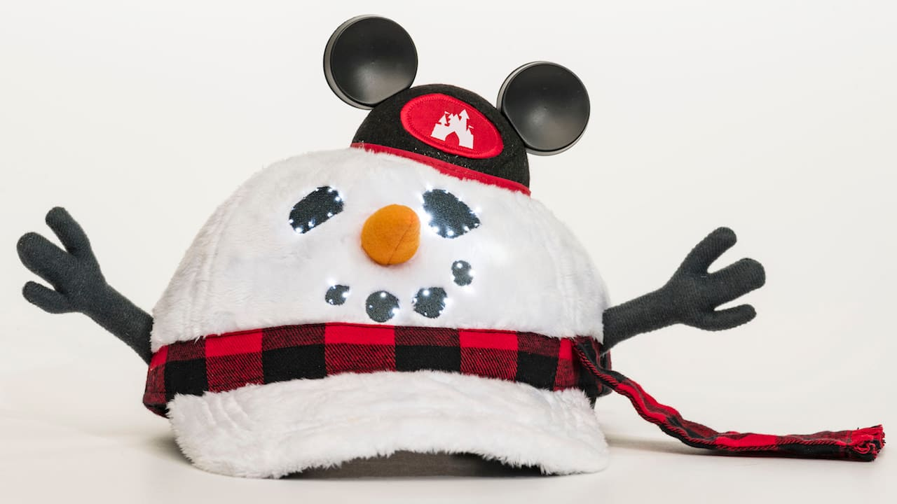 Kick Off the Holidays on the Disney Parks Blog with a Special Mickey Mouse Snowman Hat thumbnail