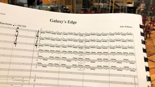 GRAMMY Nomination for Star Wars: Galaxy's Edge Theme