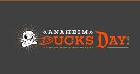 Save the Date: Anaheim Ducks Day Returns