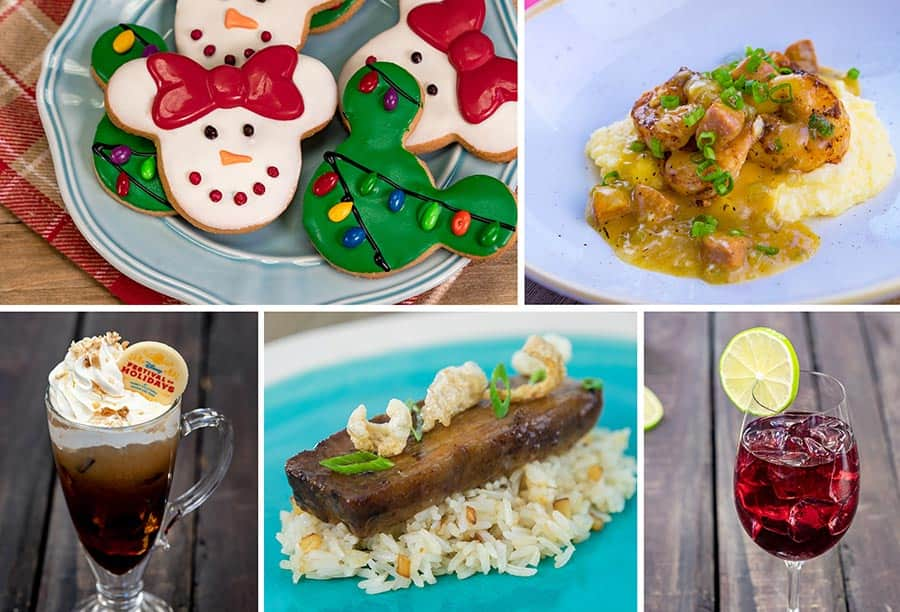 Holiday Duets Marketplace Offerings for Disney Festival of Holidays at Disney California Adventure Park