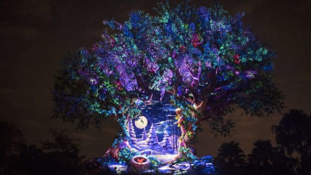 New Holiday Projections, Decor & More Debut at Disney's Animal Kingdom