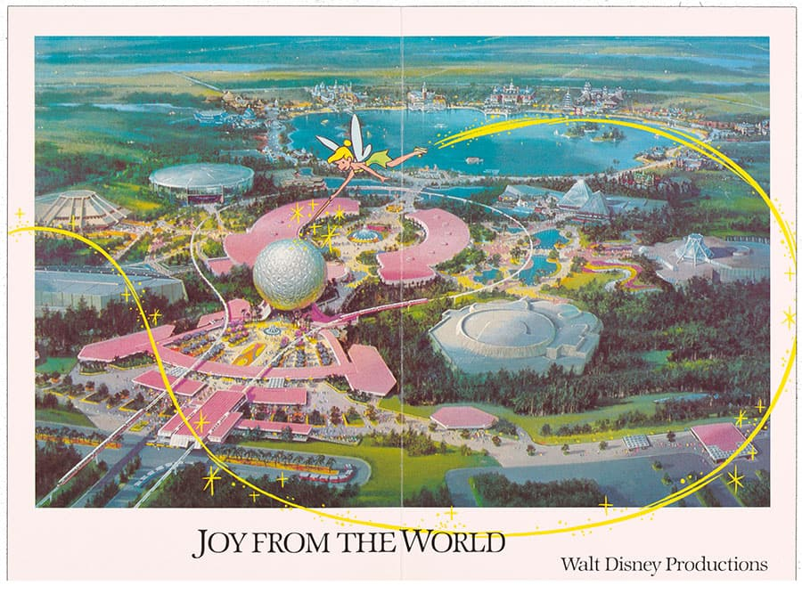 1982 Walt Disney World Christmas Card
