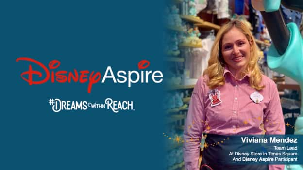 Viviana Mendez, Team Lead at the Disney store