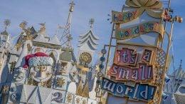 """it's a small world"" Holiday at Disneyland park"