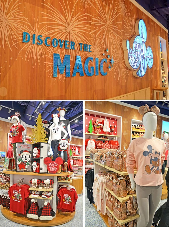 Select trending and seasonal merchandise items at Magic of Disney store at Orlando International Airport
