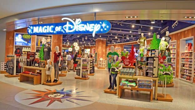 Magic of Disney store at Orlando International Airport