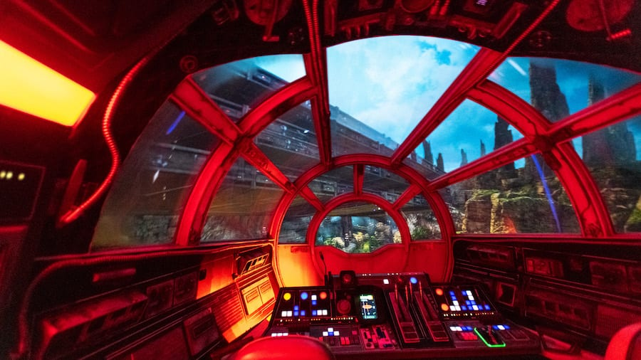 Millennium Falcon: Smugglers Run at Star Wars: Galaxy's Edge