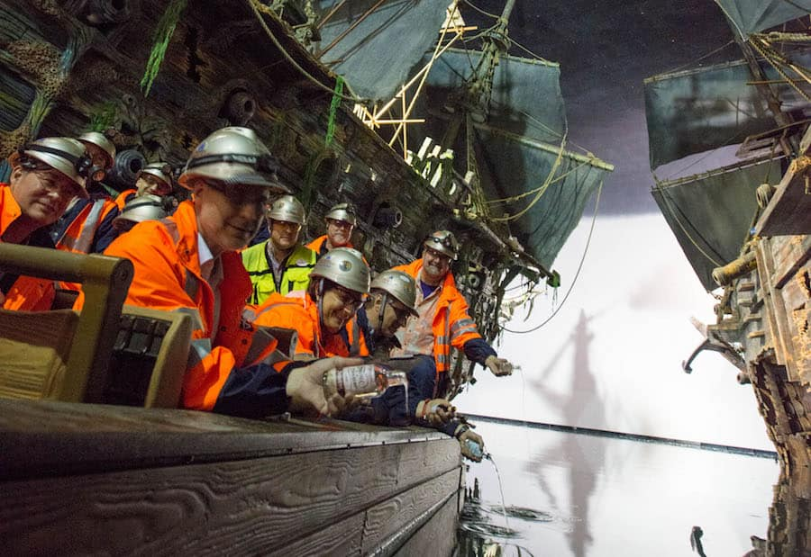 Pirates of the Caribbean: Battle for the Sunken Treasure in Shanghai Disneyland