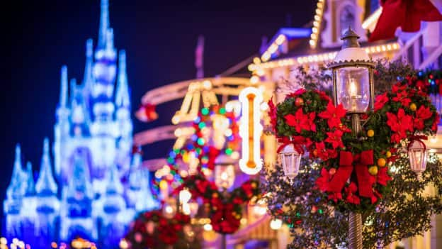 Main Street, U.S.A. Lights Up Magic Kingdom Park