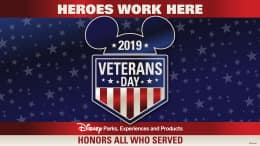 Disney Parks Honors All Who Served
