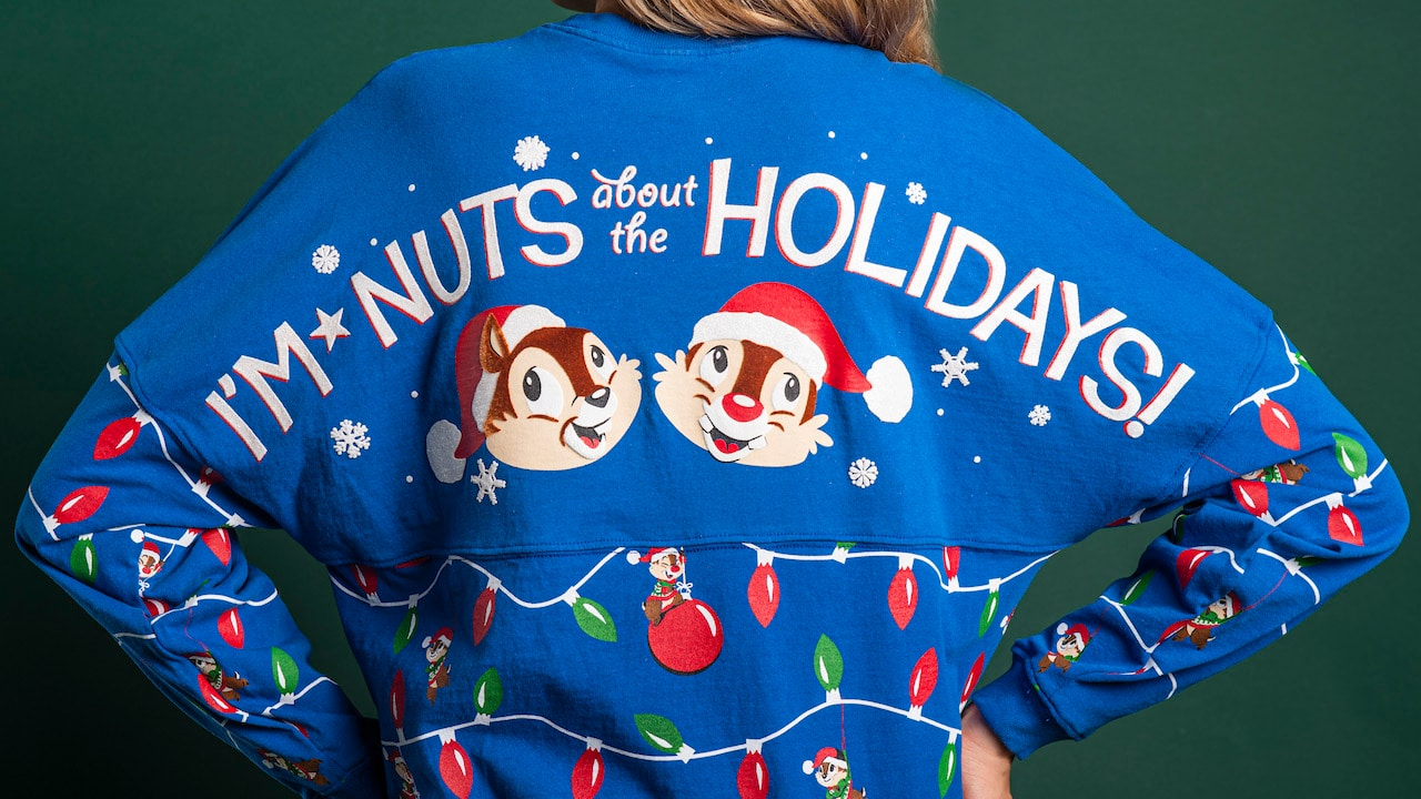 New 2019 Epcot Festival of the Holidays Merchandise Featuring Chip 'n' Dale Available on November 29 thumbnail