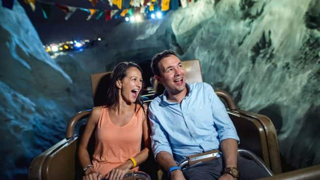 Couple on Expedition Everest