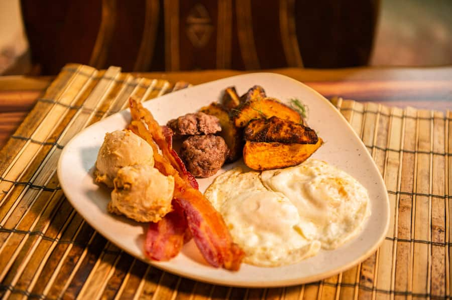 Boere Breakfast at Sanaa Kuamsha Breakfast Entrees at Disney's Animal Kingdom Lodge